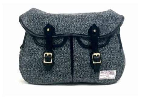 Relaunch der Brady Tasche Ariel Trout in Harris Tweed