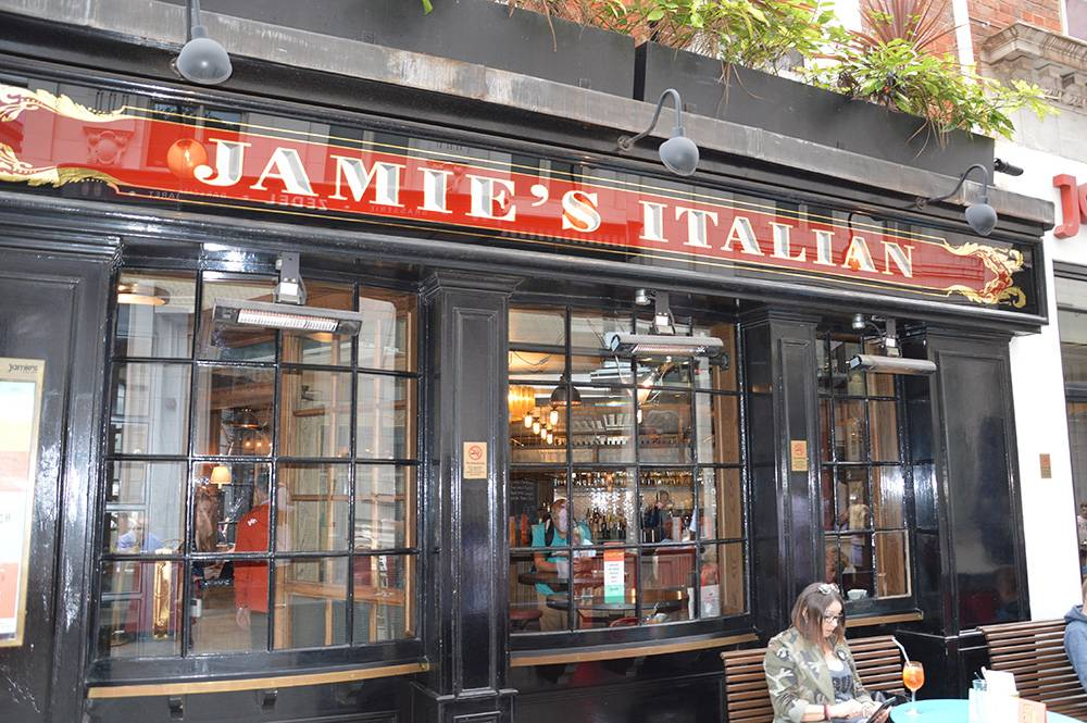 Jamie Oliver am Picadilly